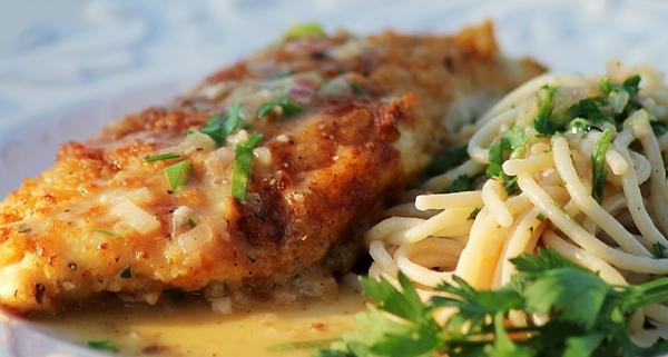 شرائح الدجاج بالصوص الإيطالى - وصفات أكل عربيه