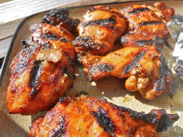 الدجاج المشوى بالكارى والبابريكا - وصفات أكل عربيه