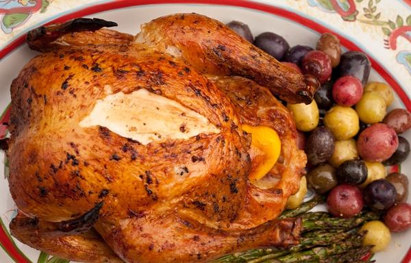 الدجاج المشوى اللذيذ