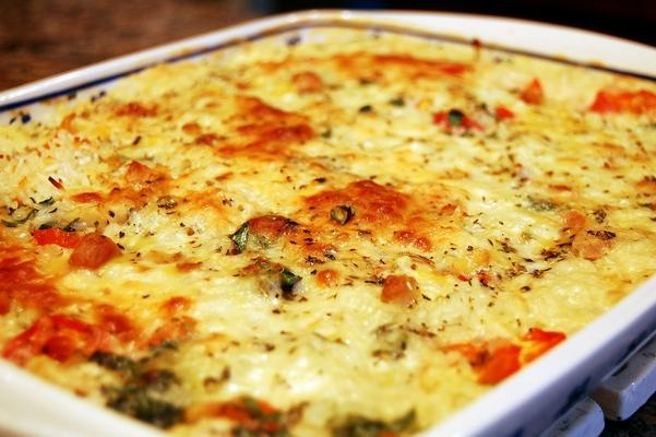 طاجن الأرز بالدجاج الحار والخضراوات - وصفات أكل عربيه