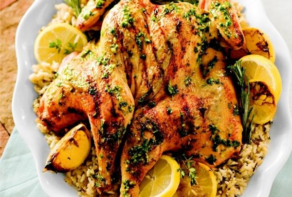 الدجاج بالأعشاب وجبن الريكوتا - وصفات أكل عربيه