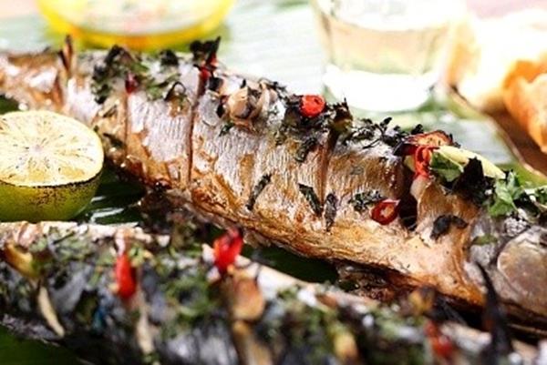 صينية السمك السنجارى