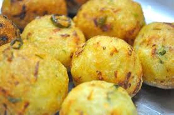 كرات البطاطس بصوص الكريمة - وصفات أكل عربيه