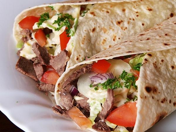 شاورما اللحم على الطريقة السورى