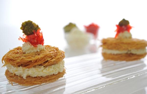 دوائر الكنافة بمربى الورد - وصفات أكل عربيه