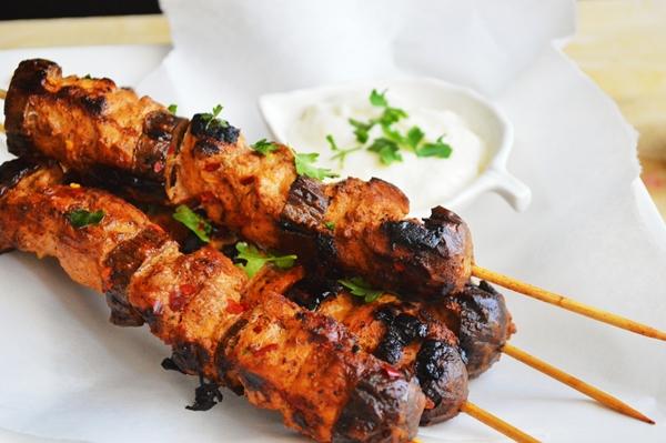 الشيش طاووق اللذيذ بسعرات حرارية أقل