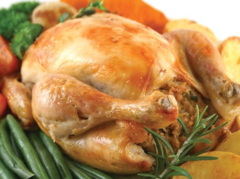 أشهى طاجن دجاج بالفريك والمكسرات
