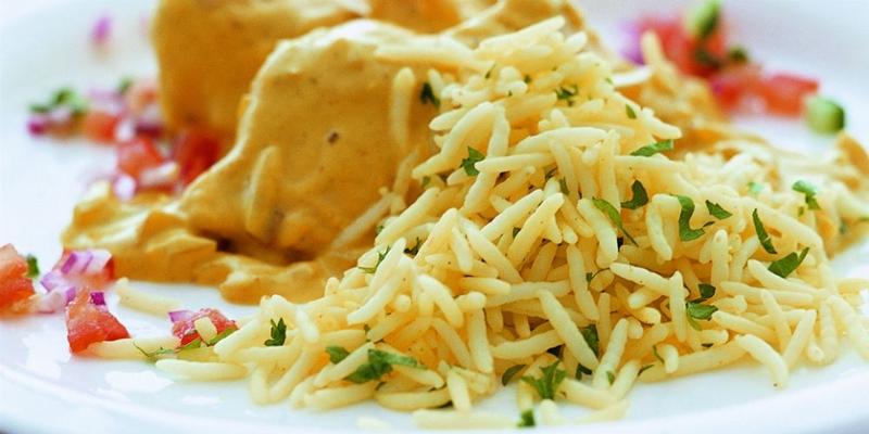 الأرز البسمتى بالدجاج والخضراوات - وصفات أكل عربيه