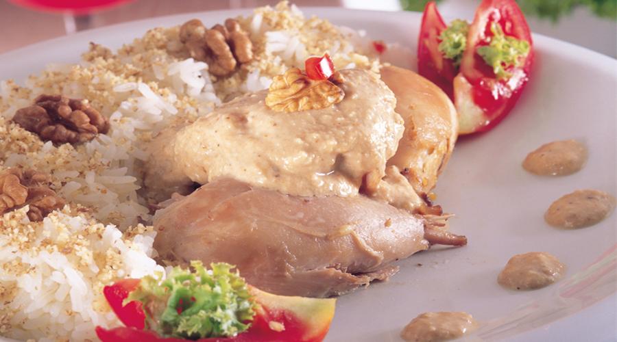 الشركسية المصرية بالدجاج المسلوق - وصفات أكل عربيه