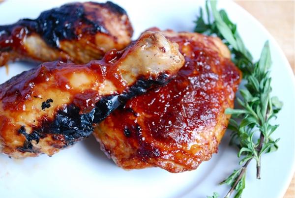 أوراك الدجاج بصوص الطماطم - وصفات أكل عربيه