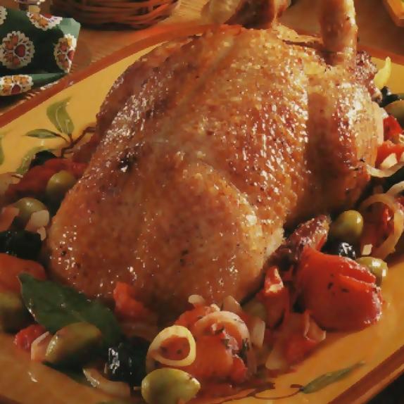البط المشوى بالخضراوات - وصفات أكل عربيه
