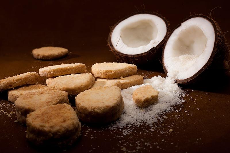 """بسكويت جوز الهند """" للدايت ومرضى السكر"""" - وصفات أكل عربيه"""
