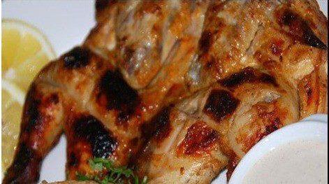 دجاج مشوى ع الفحم مثل الجاهز - وصفات أكل عربيه
