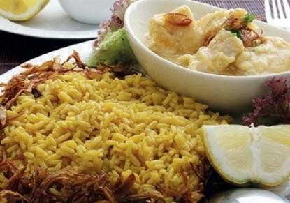 مدفونة السمك الشهية بالزعفران - وصفات أكل عربيه