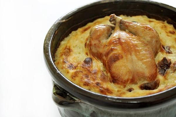 طاجن الأرز المعمر بالدجاج والكريمة - وصفات أكل عربيه