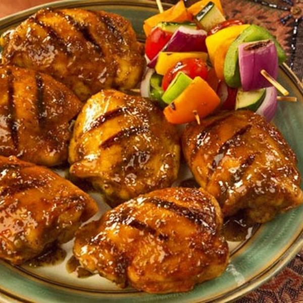 الدجاج المشوى المتبل بالميرمية والزعتر - وصفات أكل عربيه