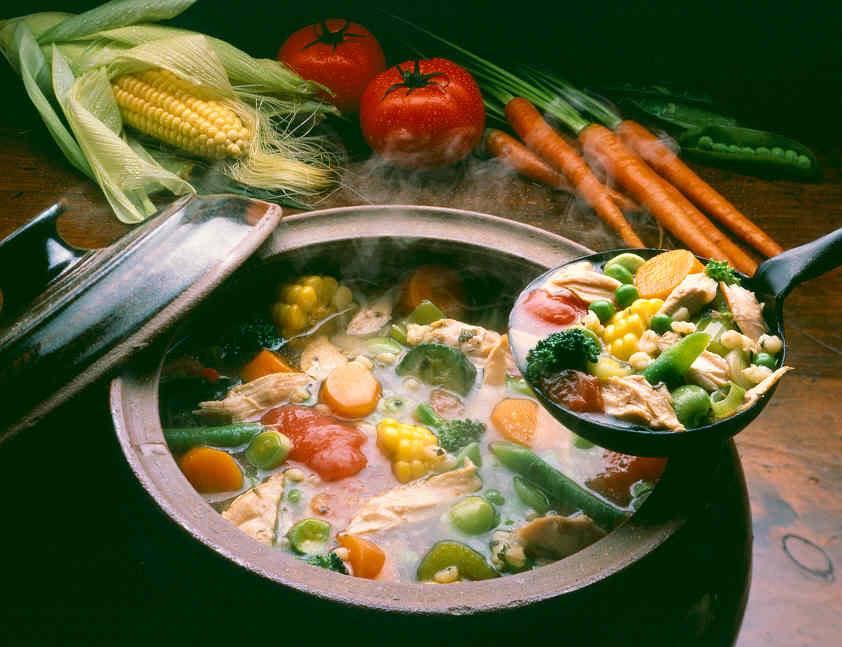 شوربة الخضراوات بطريقة جديدة وشهية - وصفات أكل عربيه