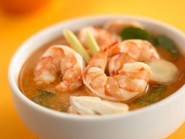 حساء الجمبرى بالصلصة الايطاليانو الباردة - وصفات أكل عربيه