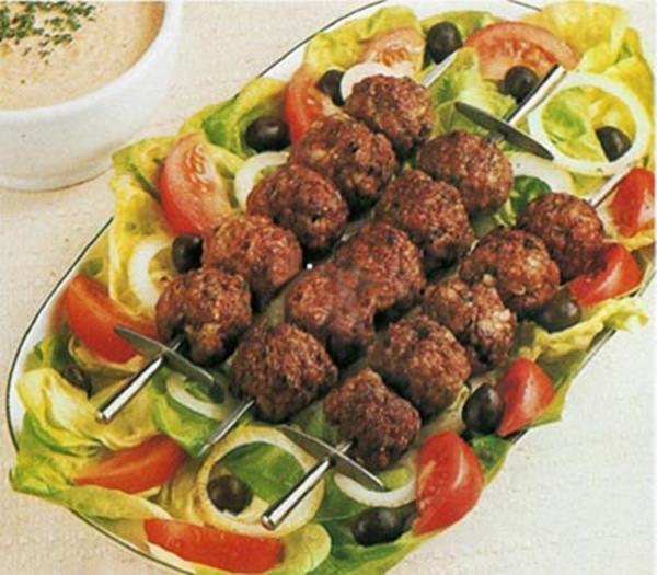 كُرات الكفتة بالخضراوات من المطبخ الخليجى - وصفات أكل عربيه