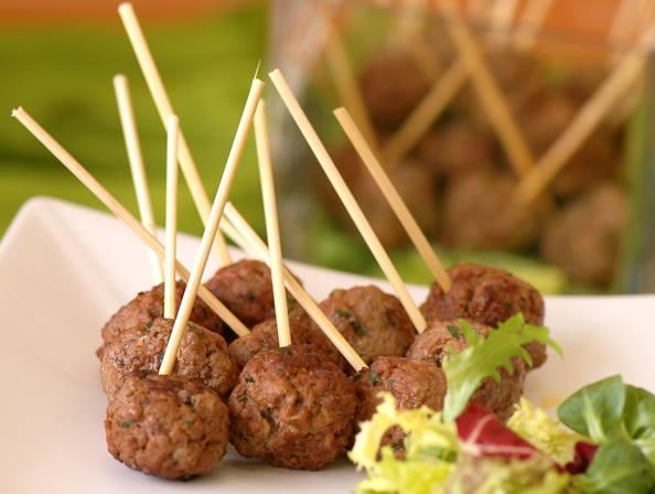 كرات اللحم الشهية بجوزة الطيب - وصفات أكل عربيه