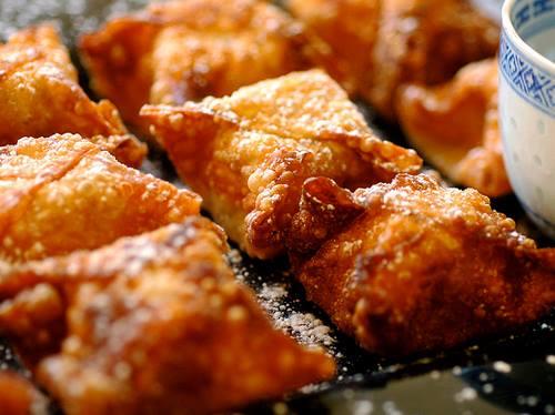 سمبوسة مقرمشة باللحمة المفرومة - وصفات أكل عربيه