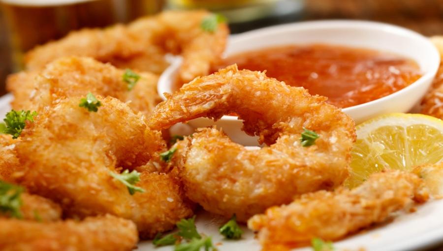 الجمبرى المقرمش بالتتبيلة الشهية - وصفات أكل عربيه