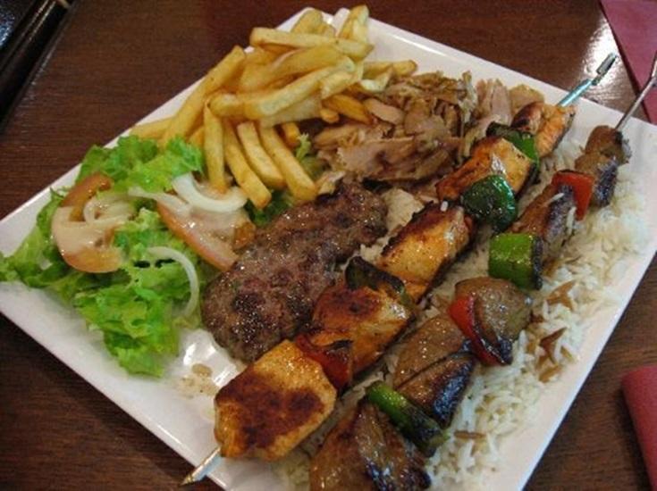 """من المطبخ العراقى """" الكباب اللذيذ بالبقدونس """" - وصفات أكل عربيه"""