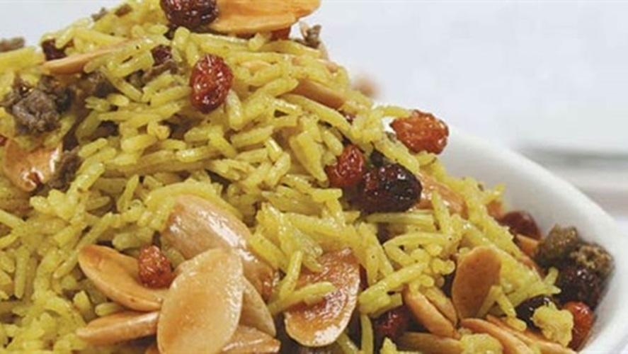 """طاجن العيد """"الأرز مع قطع اللحم بالقرفة"""" - وصفات أكل عربيه"""