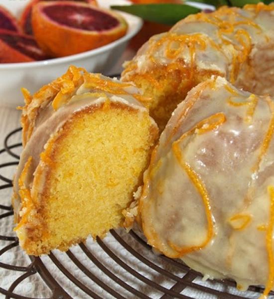 كيكة البرتقال بالكراميل - وصفات أكل عربيه