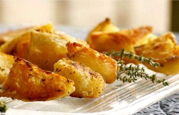 مقبلات البطاطس المقرمشة بطعم البابريكا - وصفات أكل عربيه