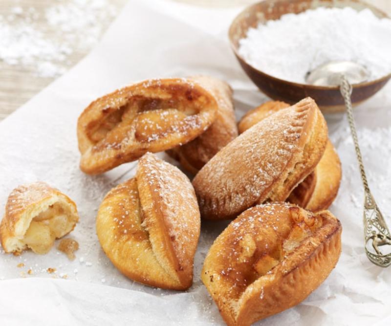 فطائر التفاح بالزنجبيل - وصفات أكل عربيه