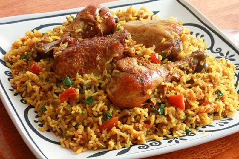 الكبسة السعودية بالدجاج - وصفات أكل عربيه