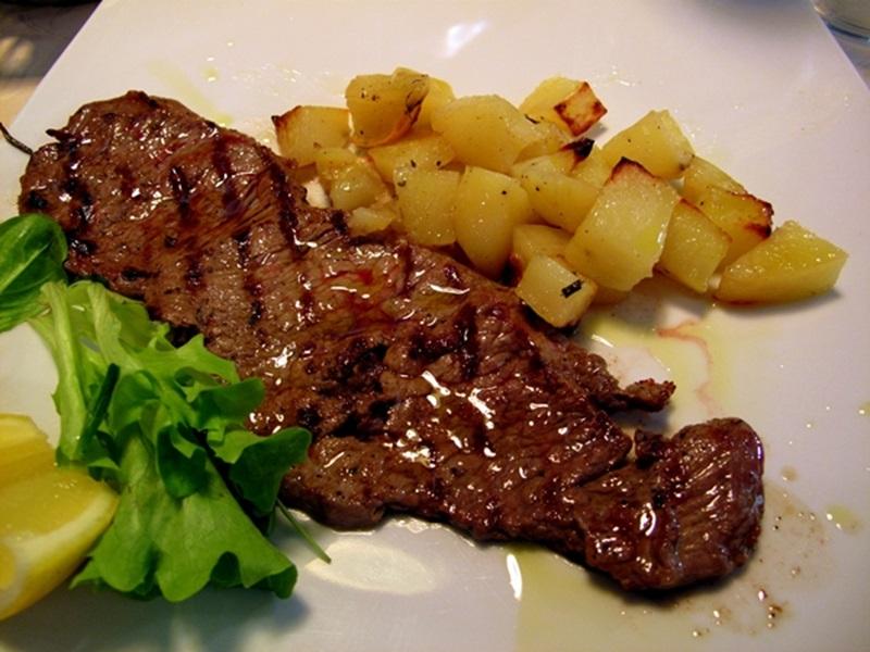 سكالوب اللحم بالمشروم والكريمة - وصفات أكل عربيه