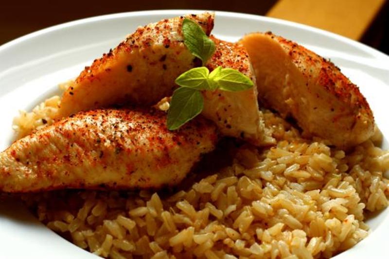 الأرز البسمتى بشرائح الدجاج والفاصوليا - وصفات أكل عربيه