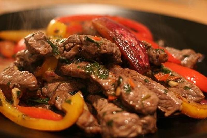 فاهيتا الدجاج الحارة بالباربيكيو - وصفات أكل عربيه