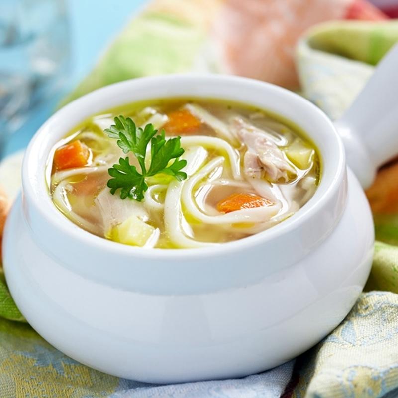 الحساء الساخن بقطع الدجاج - وصفات أكل عربيه