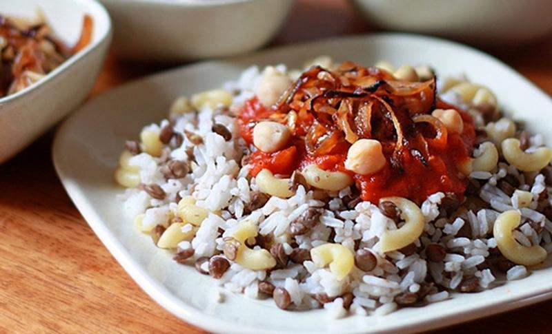 """الأكلة الشهية """"الكشرى المصرى"""" - وصفات أكل عربيه"""
