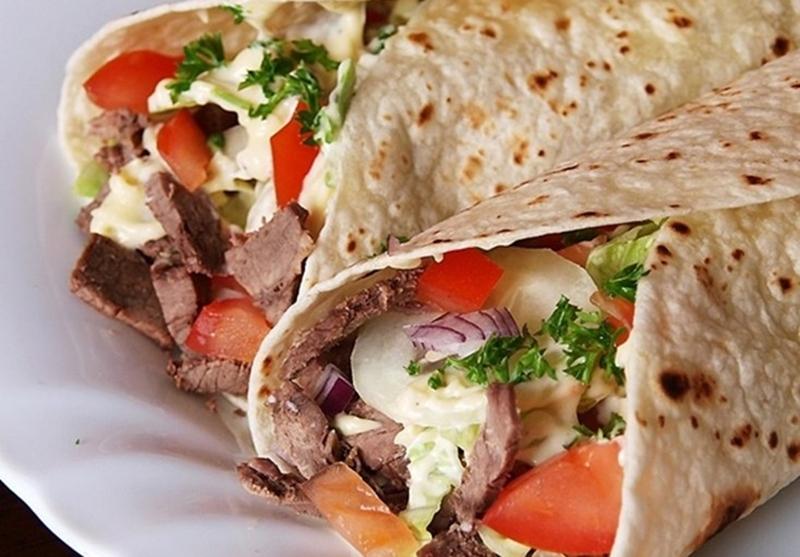 شاورما اللحم على الطريقة السورى - وصفات أكل عربيه