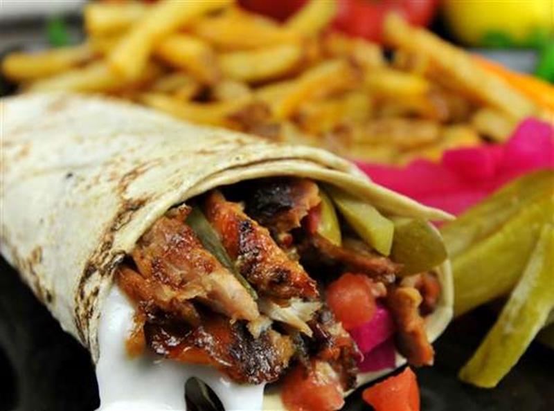 شرائح الشاورما الشهية - وصفات أكل عربيه