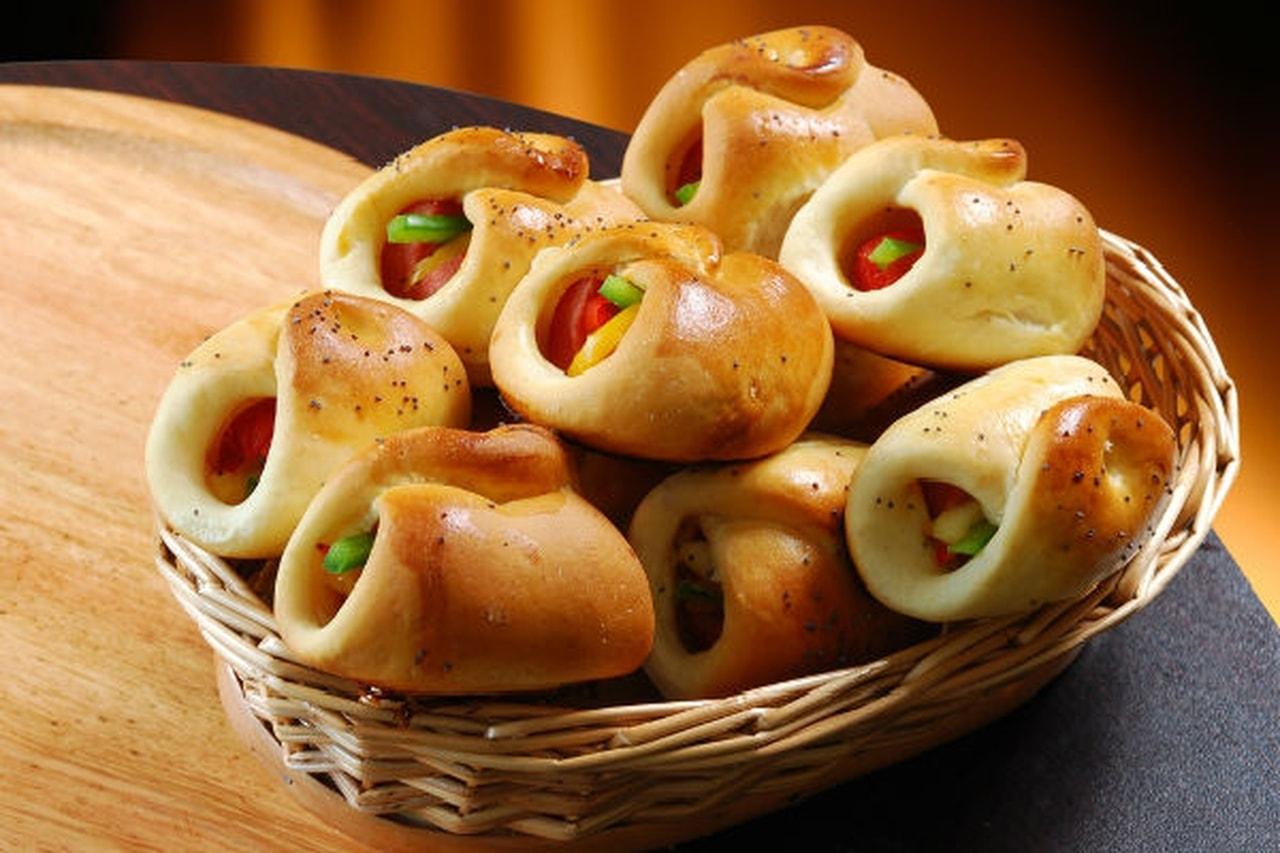 طريقة عمل عجين الخبز بالجبن والمشروم - وصفات أكل عربيه