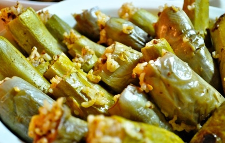 طريقة عمل محشي الكوسة والباذنجان (للريجيم) - وصفات أكل عربيه
